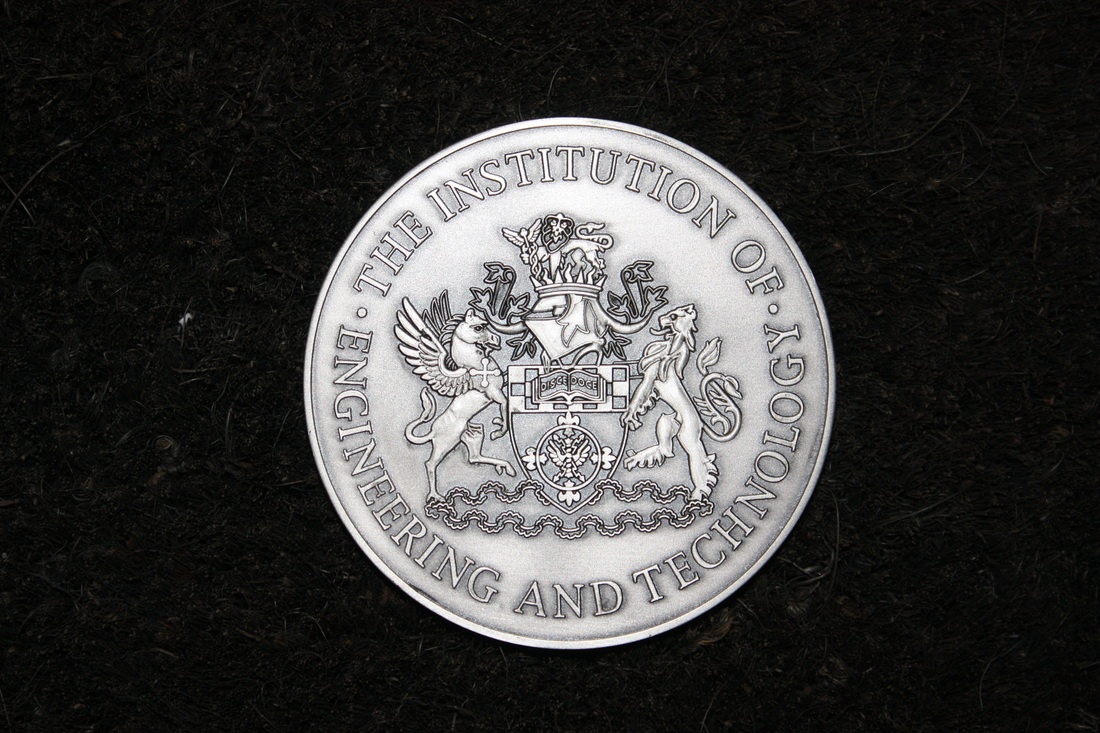 IET Viscount Nuffield Silver Medal - Front